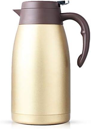 LRXG Boccetta da Vuoto in Acciaio Inossidabile da 2 Litri, Litri, Litri, erogatore di Isolamento (Coloreee   oro) | Forte calore e resistenza all'abrasione  | Aspetto piacevole  9fdb85