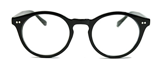 amashades Vintage Nerdies 50er Jahre Nerd Brille Vintage Look Streberbrille Rockabilly runde...