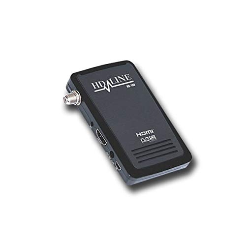 HD-LINE HD-100 Mini Receptor Satellite Negro