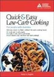 The Quick & Easy Low-Carb Cookbook for People with Diabetes by Nancy Hughes (2003-09-08)