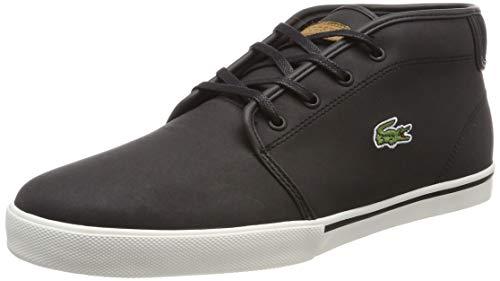 Lacoste Herren Ampthill 119 1 CMA Hohe Sneaker, Schwarz (Blk/Lt BRW Ca1), 40.5 EU