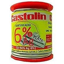 Castolin Iberica - Carrete estaño 6% plata 3060 2,0mm 250gr castol
