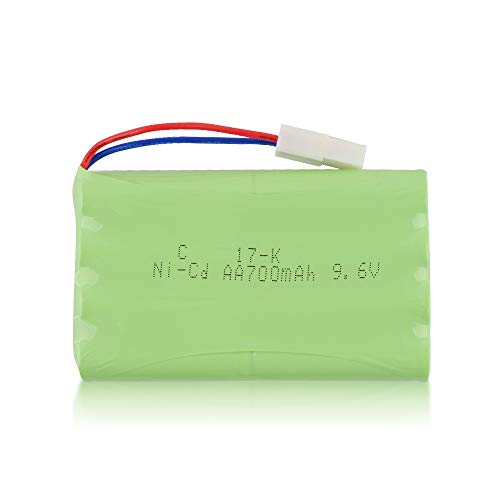 GizmoVine RC Cars Battery 9.6V 700mAh Rechargable Battery - Mädchen Für Batterie-autos