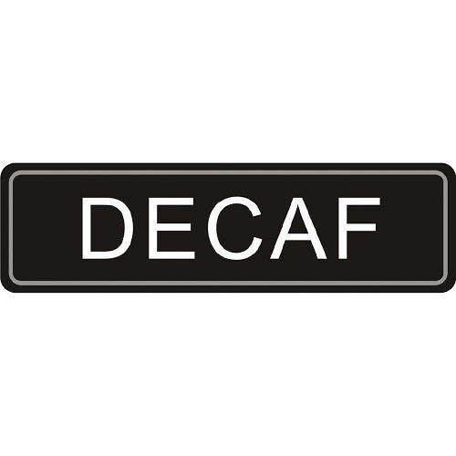 Stalwart K701Airpot Decaf etiqueta, adhesivo, uso en airpots