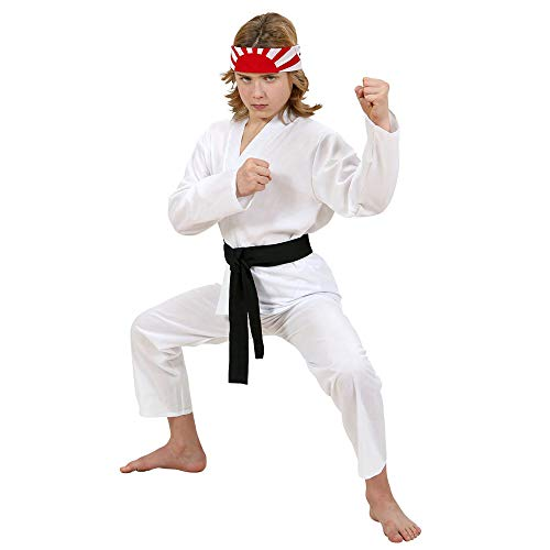 WIDMANN 73067 Kinderkostüm Karate Kid, Mehrfarbig, 140 - The Karate Kid Kostüm
