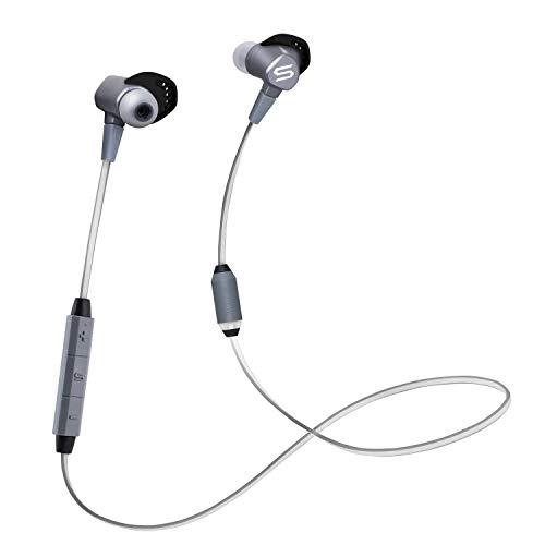 SOUL Run Free Pro Bio Wireless In-Ear-Bluetooth Kopfhörer mit Echtzeitcoaching, Grau