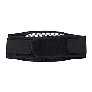 Einstellbare Turmalin Selbsterhitzung Magnetic Hüftgurt Lendenwirbelstütze Unterstützung Rücken Taille Brace Strap Schmerzlinderung