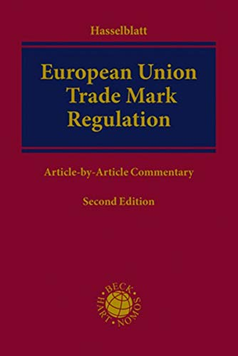 European Union Trade Mark Regulation: Article-by-Article Commentary