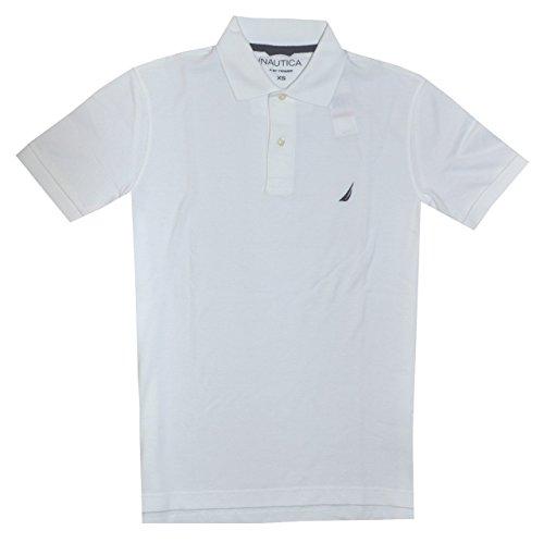 Nautica Herren Poloshirt Weiß