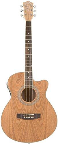 Chord n5Pa Nativo–Guitarra electroacústica con chapa de madera de fresno