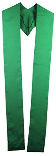ivyrobes mixte adulte Overlay clergé réversible Stole vert émeraude