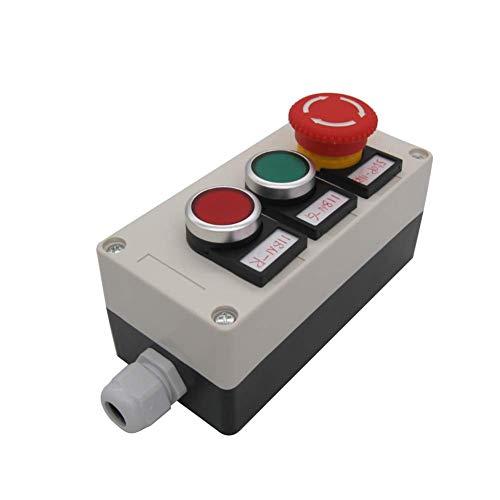Este interruptor de botón de presión de exquisita mano de obra, garantía de calidad durante 3 años. Si hay problemas de calidad dentro de 3 años, puede enviarnos un correo electrónico. Te enviaremos uno nuevo. (Solo para: interruptor de reemplazo), l...