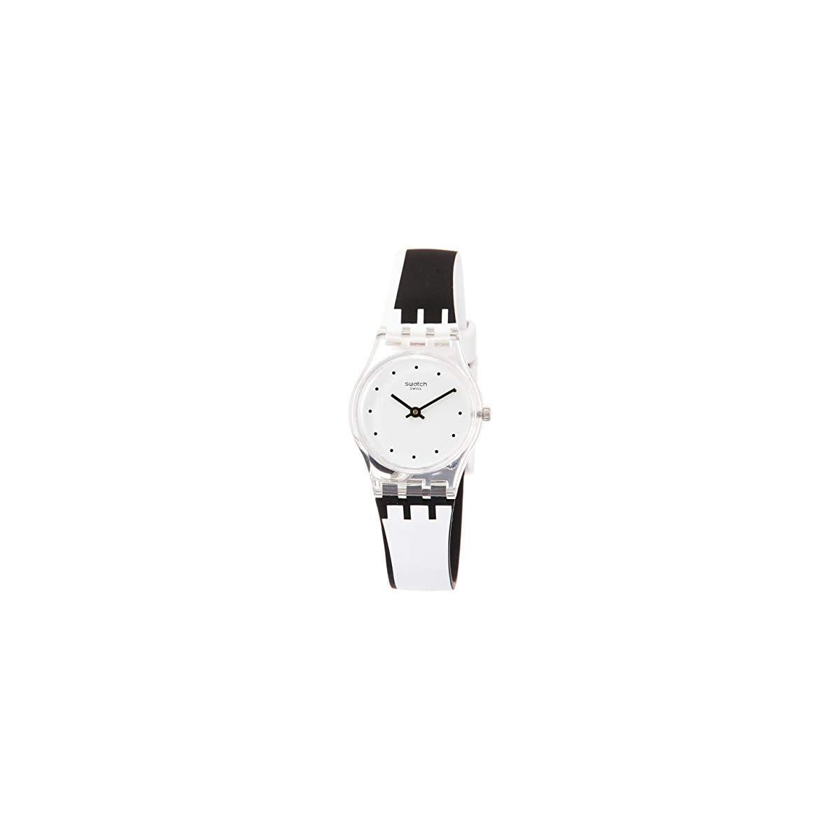 31z8wlzjXZL. SS1200  - Swatch Reloj Analógico para Mujer de Cuarzo con Correa en Silicona LK370