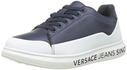 VERSACE JEANS COUTURE Herren Shoes Gymnastikschuhe, Blau (Blu Avio 239), 43 EU