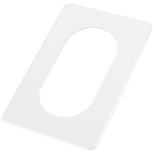 pekarek® Schutz/Dekor Platte Transparent - Für Licht Schalter und Steckdosen 2 fach (1 Stück) -