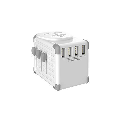 Global Travel Charger Smart USB-Ladegerät mit Vier Anschlüssen