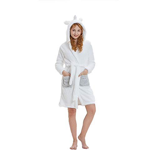 (NN IKEA Schlafanzug Tierkostüme Pyjamas Cartoon Cosplay Weihnachten Karneval,White,M)