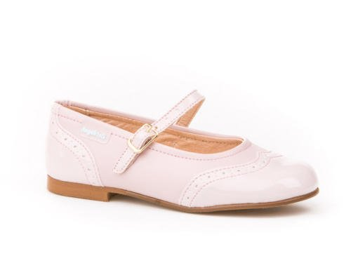 Zapatos Merceditas Charol+Napa Niñas Todo Piel Angelitos