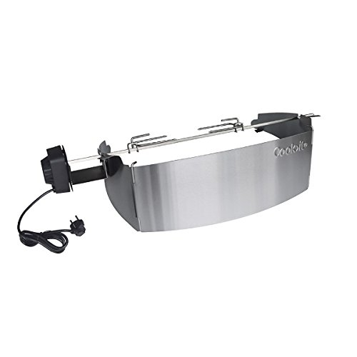 Cook>it® 90178 Drehspieß für Weber Q300/320 Q3000/Q3200 - Serie (3000 Motor)