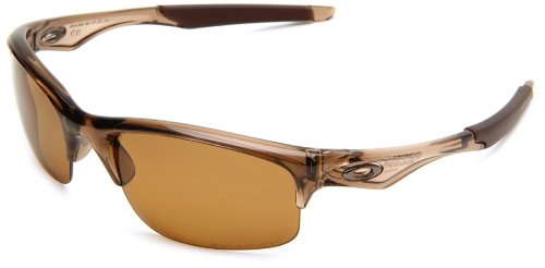 Oakley Herren Bottle Rocket Rechteckig Sonnenbrille, Brown Smoke/Bronze Polarized (S3)