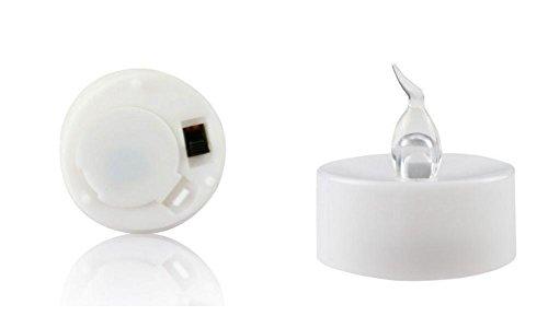 Atcoe luz de las velas Velas ligeras del té de LED sin llama con pilas colores LED vela lámparas, proponemos Mostrar Props(24 Pack)