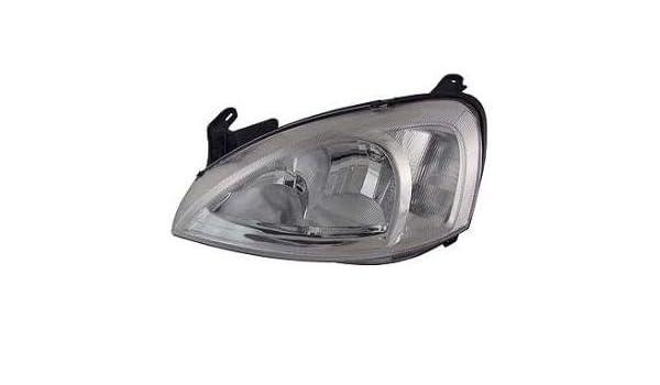 VAUXHALL COMBO MK2 10//2001 HEAD LIGHT LAMP PASSENGER SIDE LEFT