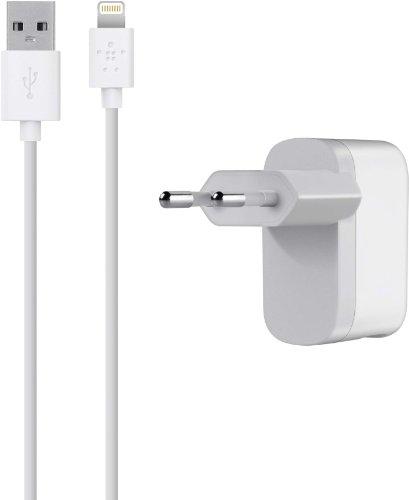 Belkin MFI Lightning Reiseladegerät für z.B. Apple iPhone 6S / 7 / 7 Plus, iPad Air 2 / 9,7