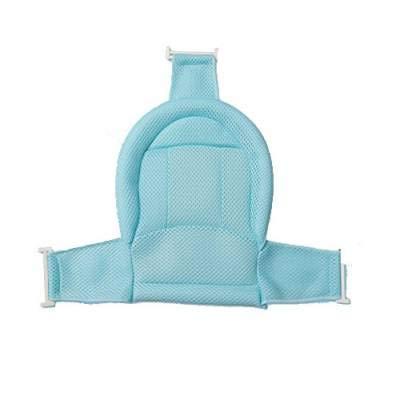Bañera plegable bebe color azul para viaje