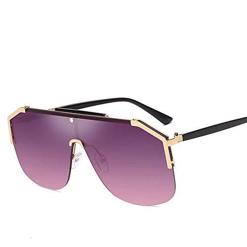 WDLQwrnd Trend Sonnenbrille Mit Großem Gestell Einteiler The Sun Glasses College Style Sonnenbrille