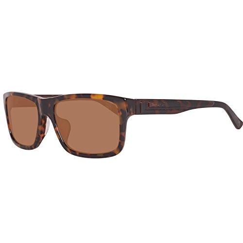 Timberland sonnenbrille tb9096-f 5956h, occhiali da sole uomo, marrone (braun), 59