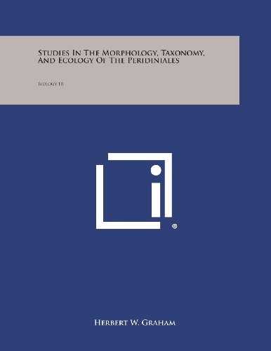 Studies in the Morphology, Taxonomy, and Ecology of the Peridiniales: Biology III