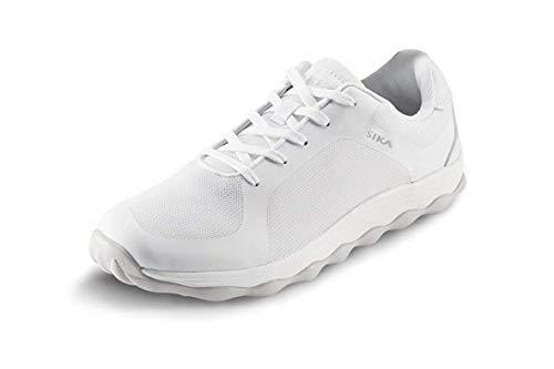 Sika 50011 Bubble Move - Sneaker Berufsschuh - Geeignet für Krankenhaus und Pflege, Gastronomie (HORECA) und Küche, Pharmaindustrie, Dienstleistung und Reinigung, Freizeit - Weiß - Gr. 35