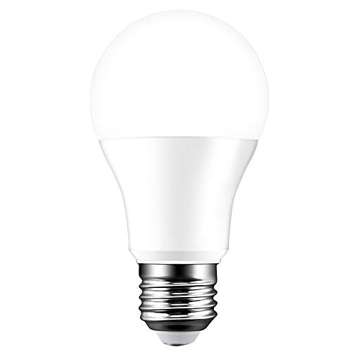 Wifi Bombillas LED E27 Inteligente Regulable de blanco de 15W, 100 equivalentes, compatible con Alexa, Google Home Assistant, control remoto a través de teléfono inteligente