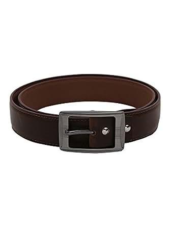 Hidedge Brown Formal Non Leather Men's Belt HSLRH18255-34