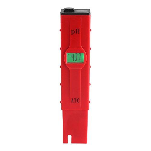 Digital valore pH Metro Misuratore Coltello Tester con grande display LCD ATC, 0,01Risoluzione per cucina, Acquario, Piscina, Laboratorio con calibrazione polvere