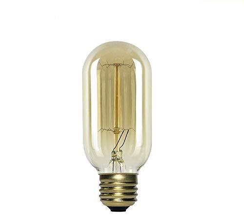 Dekorative Leuchtmittel T45 Wolframröhre 40W Gerade E27 Hochvolt 220V Dimmbare Halogenlampe