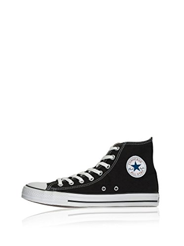 Converse Chuck Taylor All Star, Unisex-Erwachsene Hohe Sneakers, Schwarz (M9160 Schwarz) 46 EU
