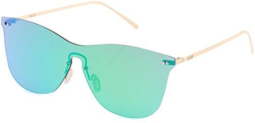 Ocean Unisex-Erwachsene Eye Sonnenbrille, Grün (Oro/verde), 58 (Uhren Oro Männer)