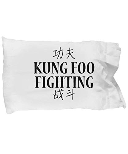 Zcfhike Kung FOO Fighting Kissen Case- Standard Size 20