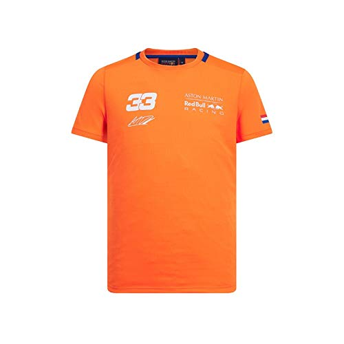 Red Bull Racing Verstappen Sportswear Tee orange, S Puma Racing Gear
