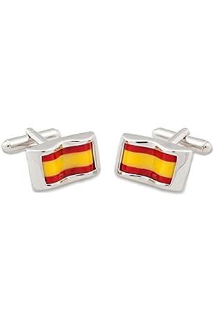 MasGemelos - Gemelos Bandera Cruz de Borgoña Cufflinks: Amazon.es ...