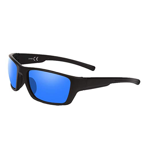 iCerber Sportbrille Sonnenbrille, Sport-Sonnenbrille Fahrradbrille Männer Frauen mit UV400 Schutz & Robust und langlebig, für Angeln, Skifahren, Golf, Laufen, Radfahren
