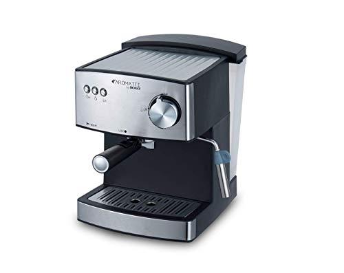 SOGO CAFETERA Combi SS-5665 Aromatti, 850W, 15/20 Bar, para Café Molido y Cápsulas E.S.E. Mono dosis...