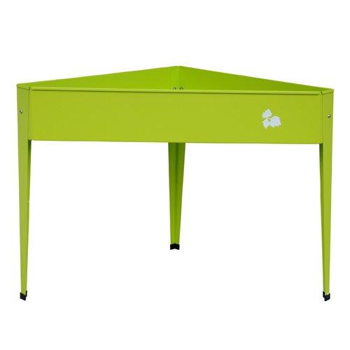 Herstera Garden 08924201 - Mesa de cultivo, 70 x 70 x 80 cm, color verde lima