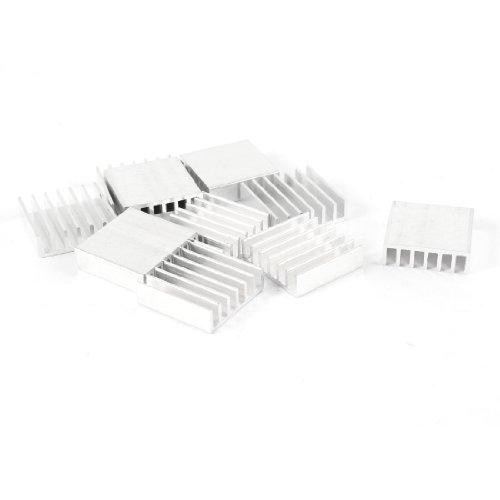 sourcingmapr-10-pcs-20mm-x-20mm-x-6mm-aluminum-heatsink-for-ic-mosfet-scr
