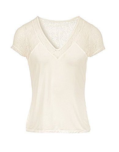 Morgan Damen T-Shirt 172-Dstaf.n Weiß (Off White)