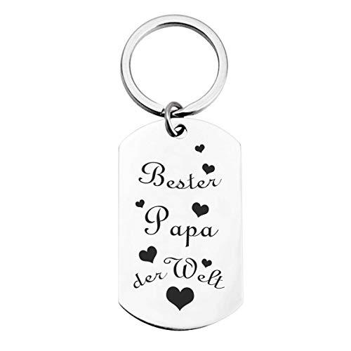 Schlüsselanhänger mit Gravur Geschenk für Männer -