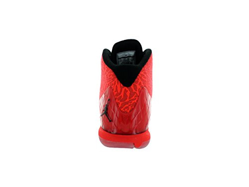 Nike Jordan Super.Fly 4 Jcrd, Chaussures de Basketball Homme, Noir/Blanc/Rouge Rouge / noir / orange (rouge gymnase / noir - pourpre clair - infrarouge 23)
