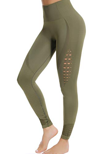 FITTOO Mallas Leggings Mujer Yoga de Alta Cintura Elásticos y Transpirables