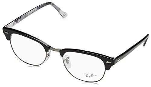 Ray-Ban RAYBAN Unisex-Erwachsene Brillengestell 5154, Schwarz, 49